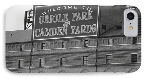 Baltimore Orioles Park At Camden Yards Phone Case by Frank Romeo