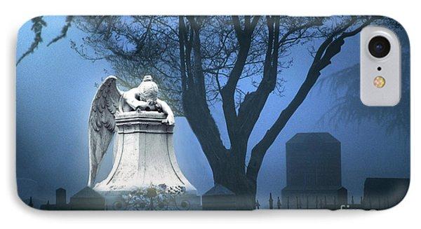 Broken Angel IPhone Case by Peter Piatt