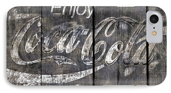 Coca Cola Sign Phone Case by John Stephens