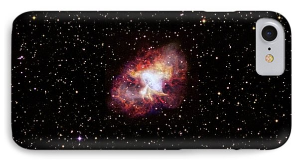 Crab Nebula IPhone Case by Nasa/cxc/sao