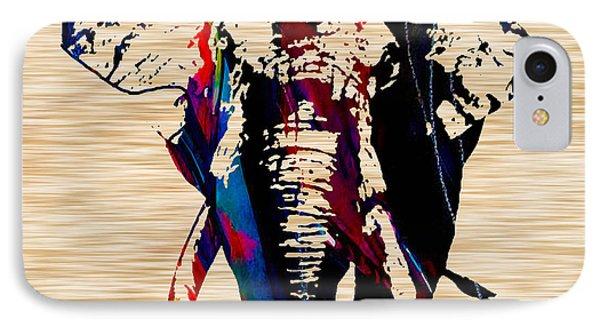 Elephant IPhone Case by Marvin Blaine