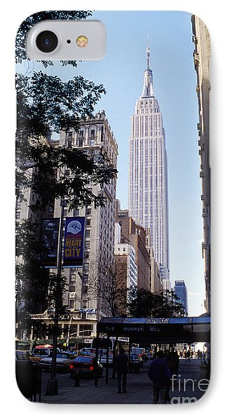 Empire State Building IPhone Case by Jon Neidert