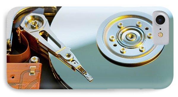 Hard Disc Drive IPhone Case by Wladimir Bulgar