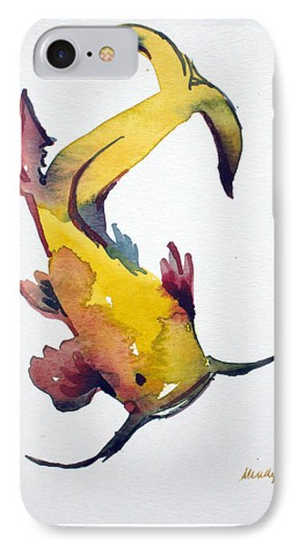 Koi IPhone Case by Mindy Newman