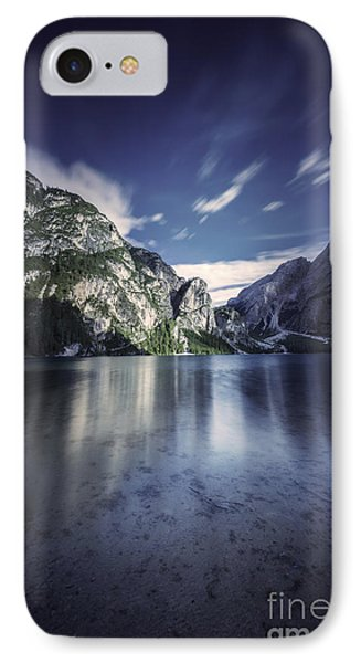 Lake Braies And Dolomite Alps, Northern Phone Case by Evgeny Kuklev