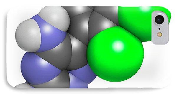 Lamotrigine Seizures Drug Molecule IPhone Case by Molekuul