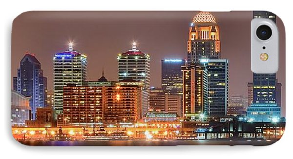 Louisville Panoramic View IPhone Case by Frozen in Time Fine Art Photography