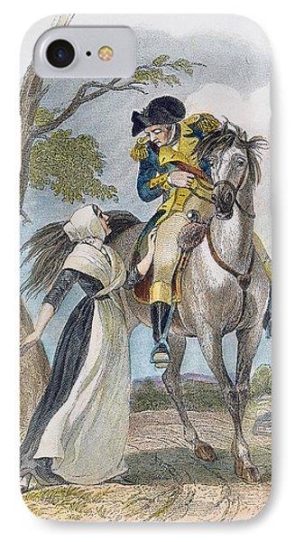 Lydia Darrah, 1777 IPhone Case by Granger