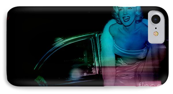 Marylin Monroe IPhone Case by Marvin Blaine