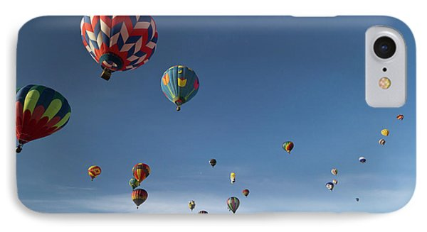 Mass Ascension At The Albuquerque Hot IPhone Case by William Sutton