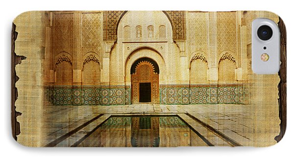 Medina Of Marakkesh Phone Case by Catf