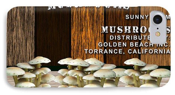 Mushroom Farm IPhone Case by Marvin Blaine