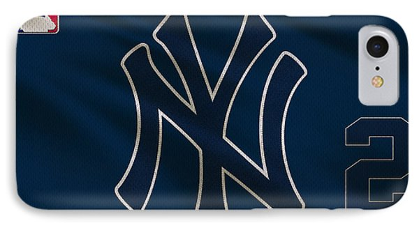 New York Yankees Derek Jeter IPhone Case by Joe Hamilton