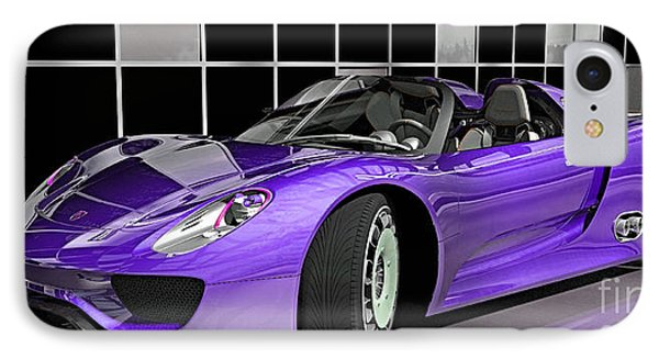 Porsche 918 Spyder Collection IPhone Case by Marvin Blaine