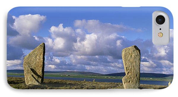 Ring Of Brodgar, Orkney Islands IPhone Case by Panoramic Images