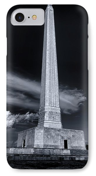 San Jacinto Monument One Sky One Star IPhone Case by Joshua House