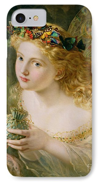 Take The Fair Face Of Woman IPhone Case by Sophie Anderson