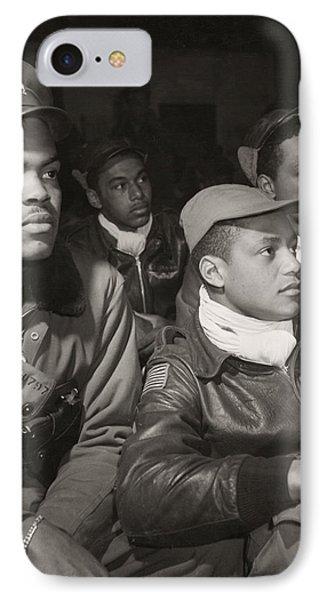 Tuskegee Airmen, 1945 Phone Case by Granger