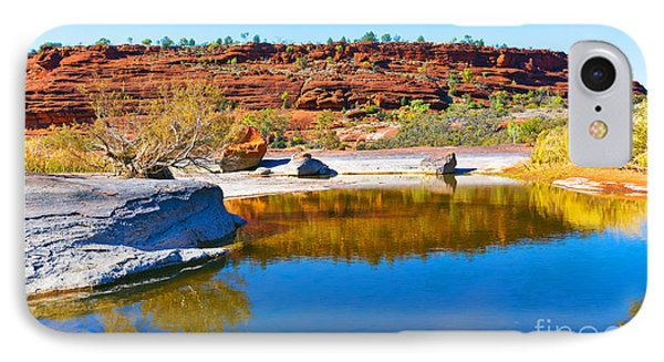 Palm Valley Central Australia  Phone Case by Bill  Robinson