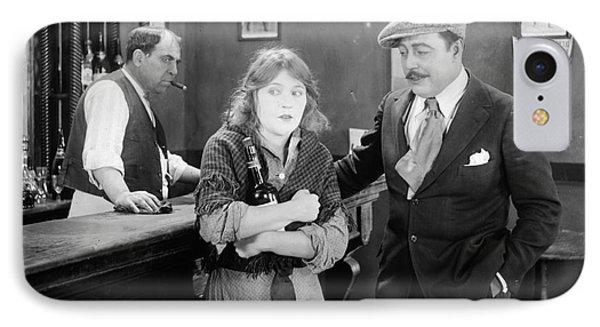 Silent Film Still: Drinking Phone Case by Granger