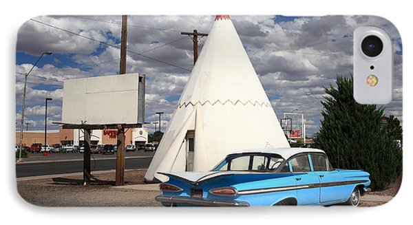 Route 66 - Wigwam Motel Phone Case by Frank Romeo
