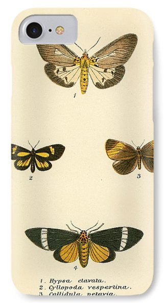 Butterflies Phone Case by English School