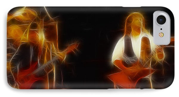 38 Special-94-larry N Jeff-gb20a-fractal Phone Case by Gary Gingrich Galleries