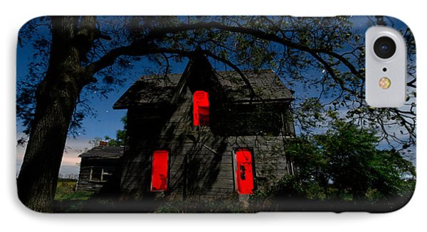 3am At The Farmhouse  IPhone Case by Cale Best