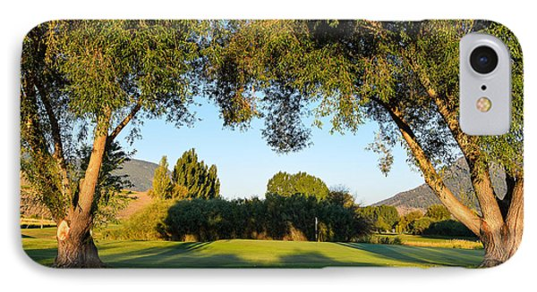 3rd Green At Quilchena  IPhone Case by Randy Giesbrecht