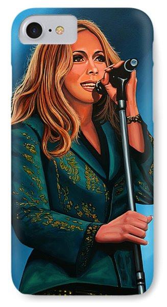 Anouk Painting IPhone Case by Paul Meijering