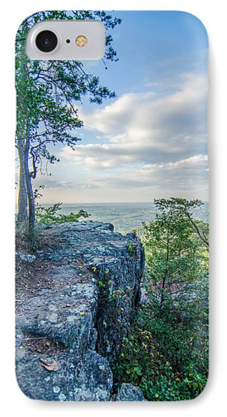 Beautiful Aerial Landscape Views From Crowders Mountain Near Gas IPhone Case by Alex Grichenko