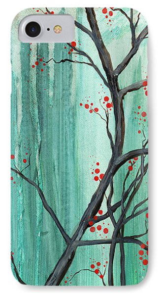 Cherry Tree  Phone Case by Carrie Jackson