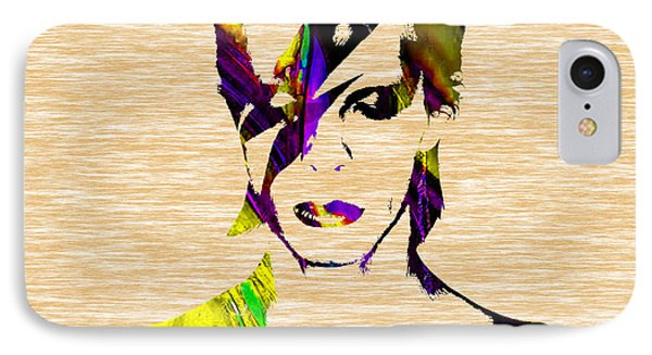 David Bowie Collection IPhone Case by Marvin Blaine