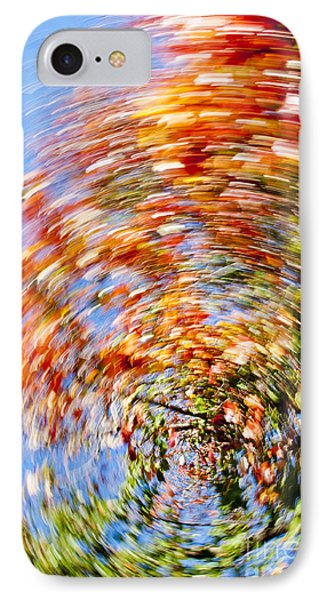 Fall Abstract Phone Case by Steven Ralser