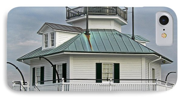 Hooper Straight Lighthouse Phone Case by Skip Willits