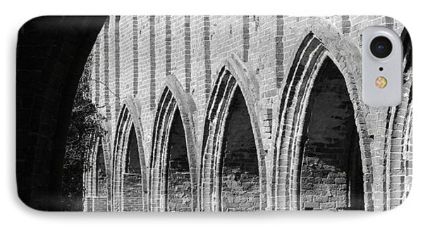 Monastery Ruins Phone Case by Four Hands Art