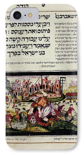Passover Haggadah IPhone Case by British Library