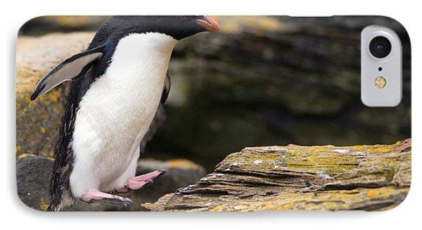 Rockhopper Penguin IPhone 7 Case by John Shaw