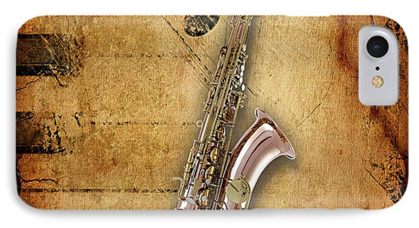Saxophone Collection IPhone Case by Marvin Blaine