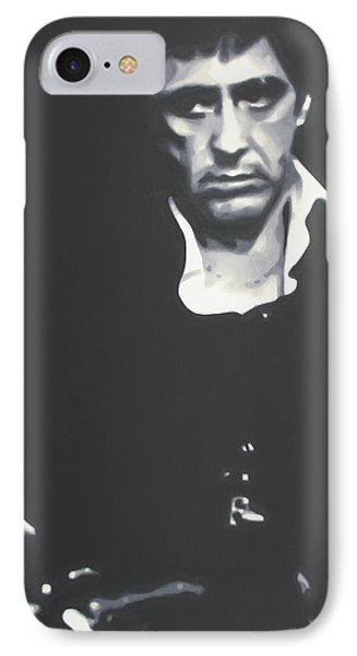 Scarface 2013 Phone Case by Luis Ludzska