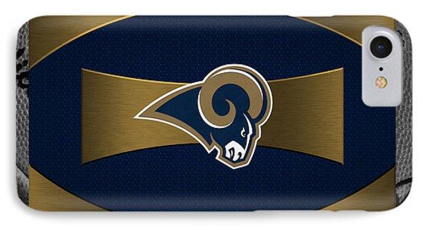 St Louis Rams Phone Case by Joe Hamilton