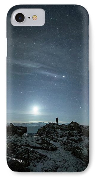 Stargazing IPhone Case by Tommy Eliassen