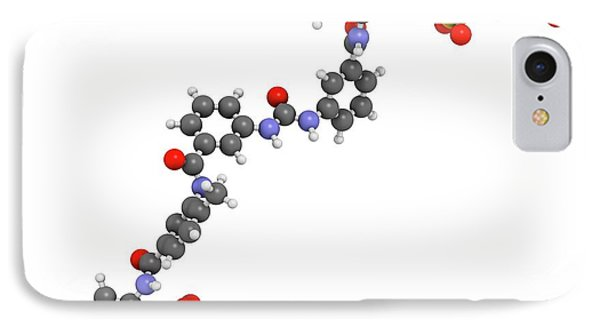 Suramin Sleeping Sickness Drug Molecule IPhone Case by Molekuul