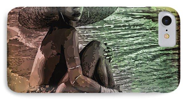 Rihanna IPhone Case by Svelby Art
