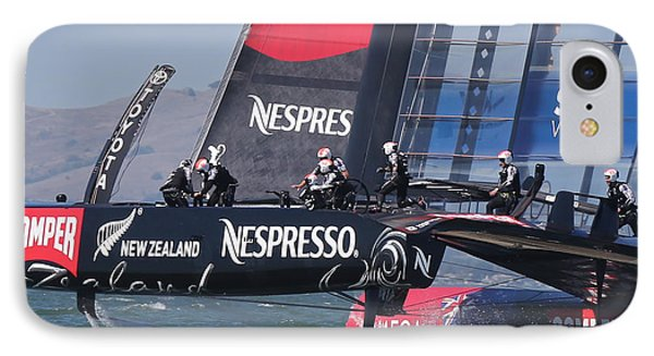 America's Cup San Francisco Phone Case by Steven Lapkin