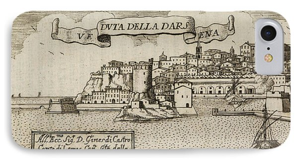 An Illustration Of 18th Century Naples IPhone Case by British Library
