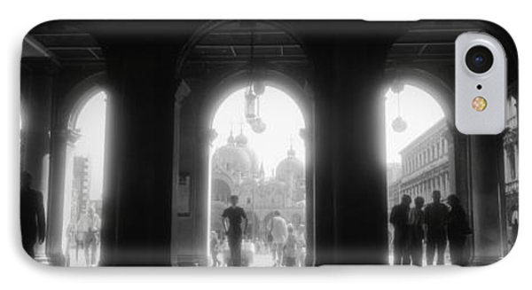 Arcade Of A Building, St. Marks Square IPhone Case by Panoramic Images
