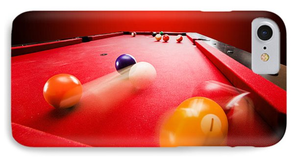 Billards Pool Game Phone Case by Michal Bednarek
