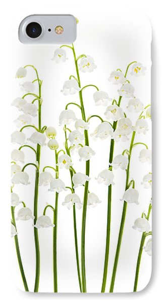 Lily-of-the-valley Flowers  IPhone Case by Elena Elisseeva