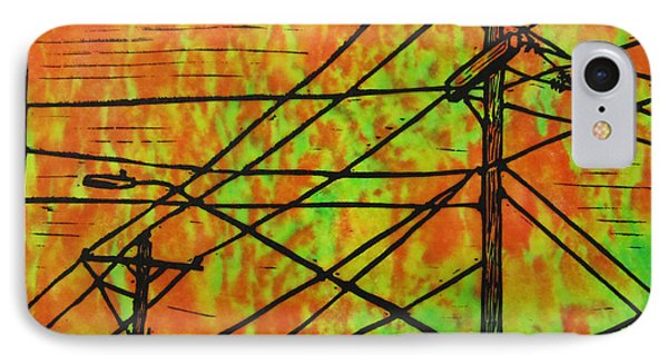 Lines Phone Case by William Cauthern